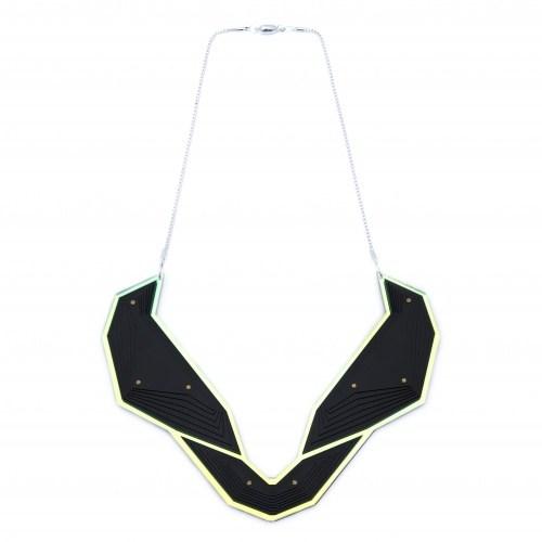 Скульптурное колье Butterfly Necklace
