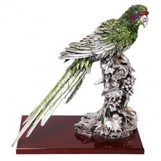 Скульптура Попугай на ветке