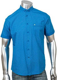 Рубашка Merc Thorpe, ярко-синяя