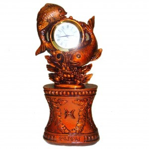 Часы «Зодиак Рыбы»