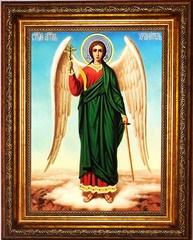 Ангел Хранитель. Ростовая икона на холсте.
