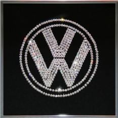 Картина с кристаллами Сваровски Volkswagen
