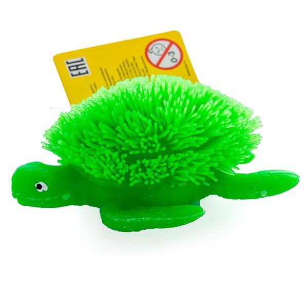 Фигурка Megasaurs Черепаха с резиновым ворсом с подсветкой
