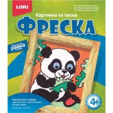 Набор для детского творчества Картина из песка. Панда