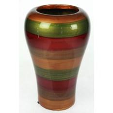 Декоративная ваза В полоску