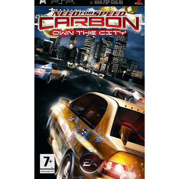 Игра PSP Need for Speed: Carbon Own The City