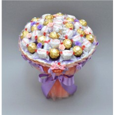 Букет из конфет Монпасье