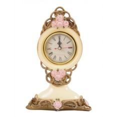 Настольные часы Античная роза