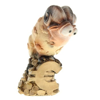 Копилка Баран на евро