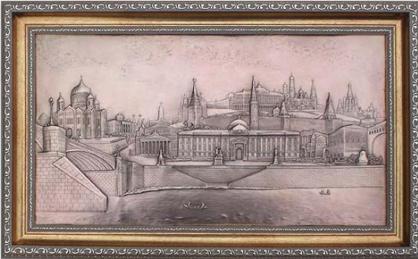 Плакетка Виды Москвы (большая)