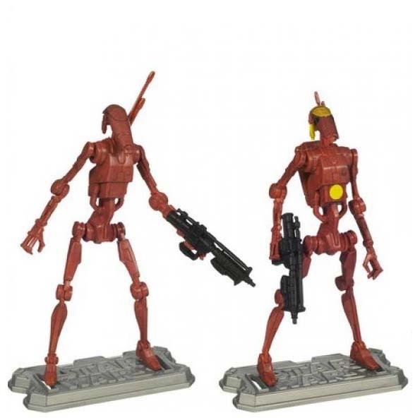 Подвижные фигурки боевых дроидов