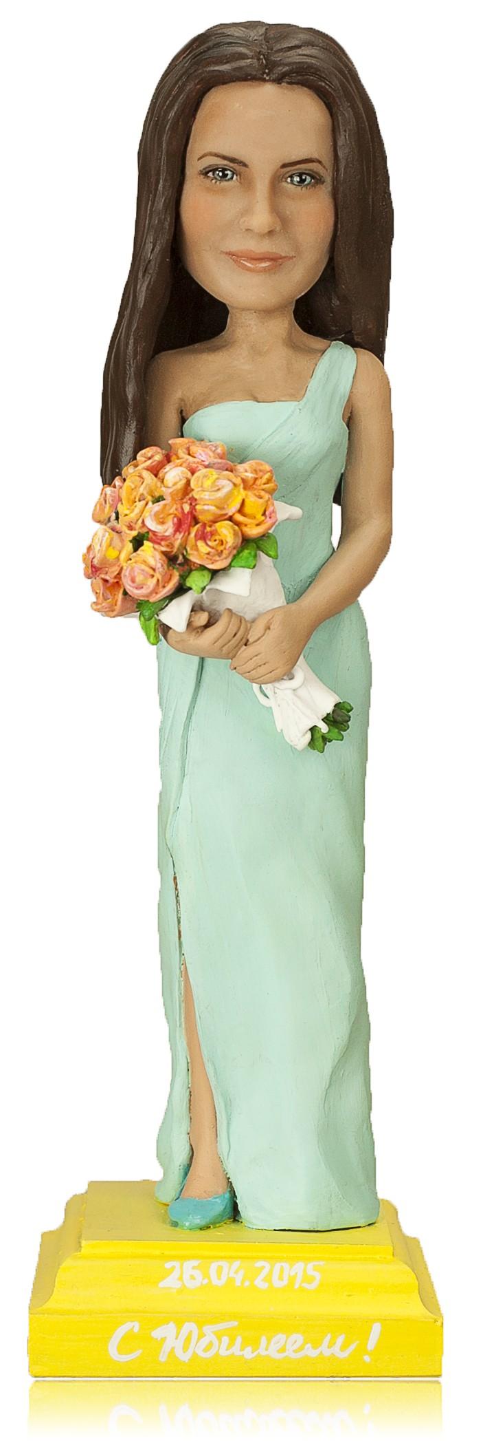 Статуэтка по фото С цветами