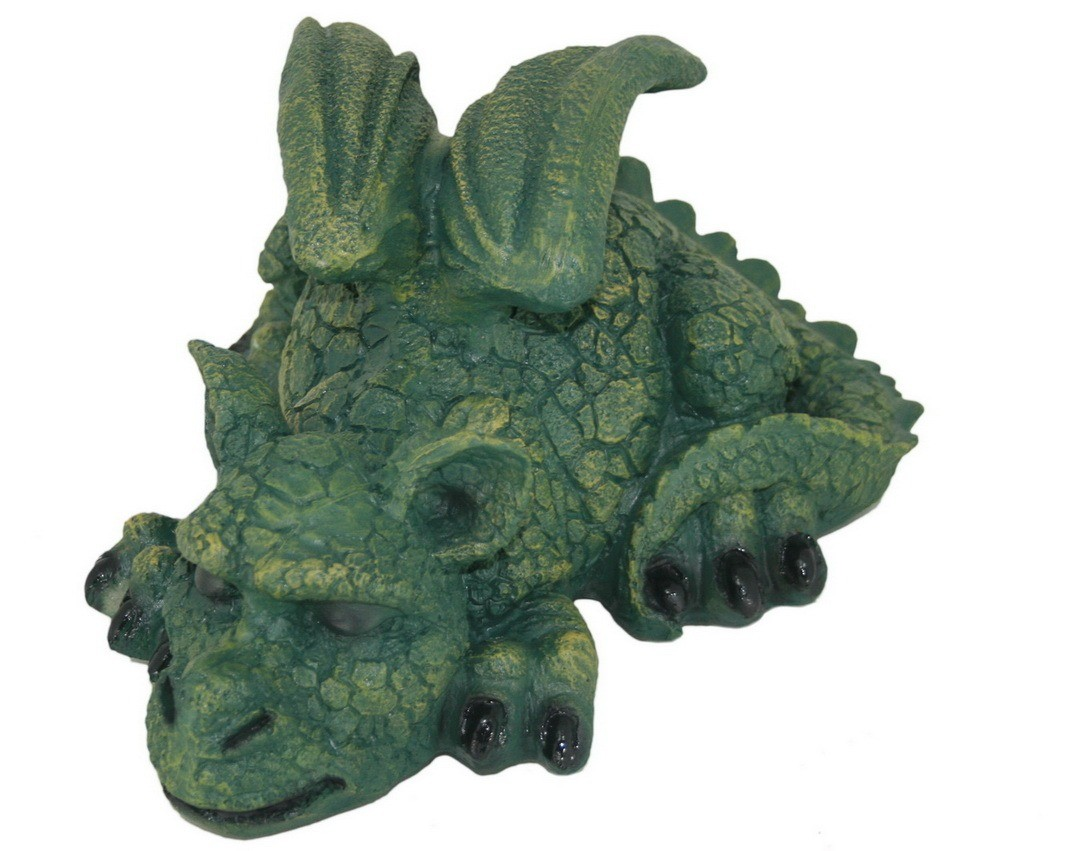 Садовая фигурка Зеленый дракончик