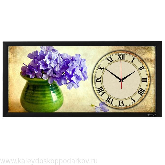 Настенные часы из песка Виола