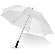 Белый механический зонт-трость Winner