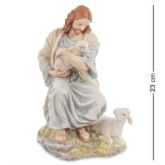Статуэтка Иисус с ягненком , высота 23см