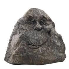 Декоративный камень-рожица