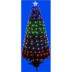 Оптоволоконная елка со светодиодами в виде звезды
