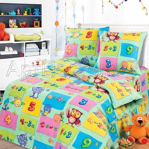 Детское постельное белье Забавный счет «Артпостель»