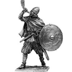 Оловянный солдатик Викинг с рогом, 9-10 вв.