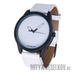 Часы Mitya Veselkov Белые на белом