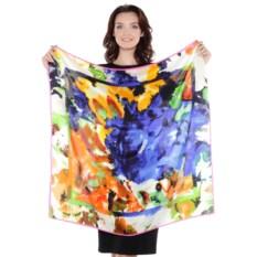 Платок женский с принтом абстракция Frantelli