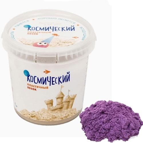 Кинетический песок Сиреневый, 1 кг