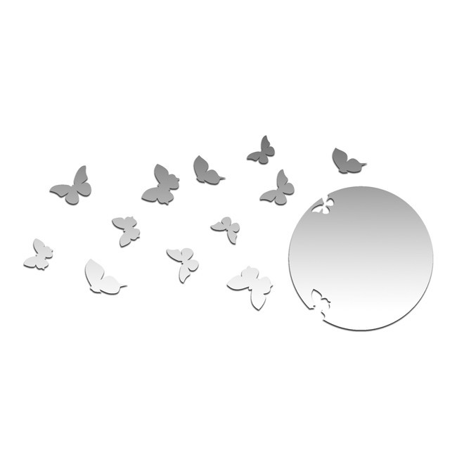 Зеркало Улетающие бабочки