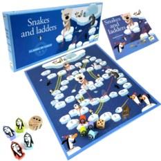 Настольная игра Djeco «Сачки и лестницы»