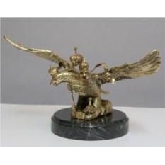 Бронзовая статуэтка Двуглавый орел