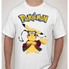 Мужская футболка с покемоном Пикачу