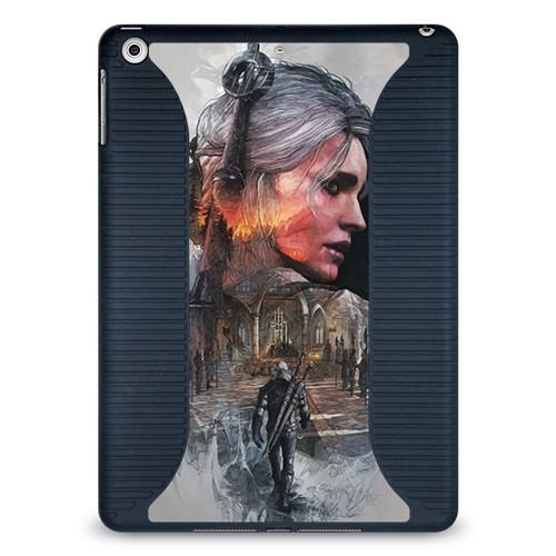 Чехол для Apple iPad Air Девушки Ведьмака