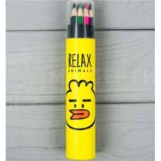 Набор карандашей Relax Animals