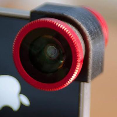 Olloclip - FishEye (фишай), macro и ширик для iPhone 4/4S