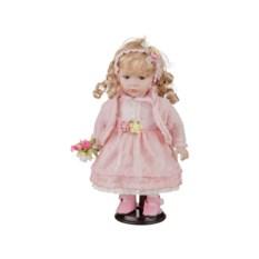 Фарфоровая кукла Варя с мягконабивным туловищем