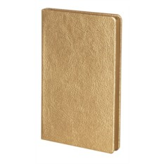 Золотистая записная книжка Ingot mini