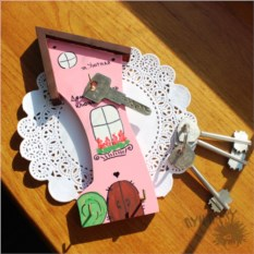 Ключница Домик-хранитель ключей счастья