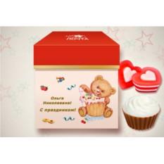 Мыльный десерт «Клубника и ваниль»