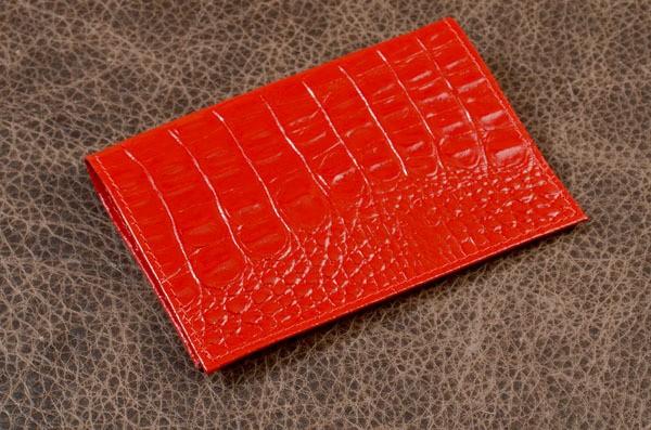 Обложка для паспорта. Коллекция Eclat (красный)