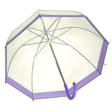 Зонт-трость «Прозрачный купол»