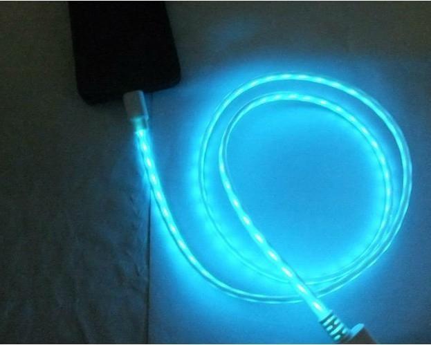 Светящийся кабель для iPhone5