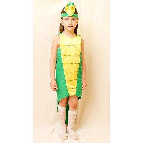 Карнавальный костюм для девочки ЗМЕЙКА