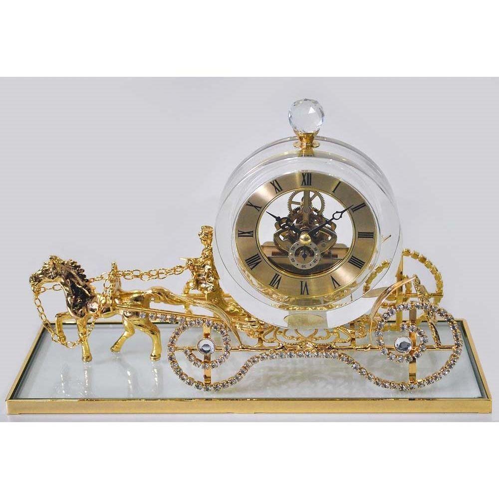 Интерьерные часы Карета