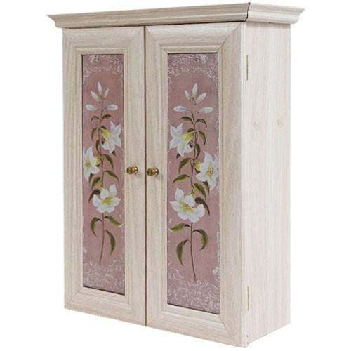 Декоративный настенный шкафчик Лилии