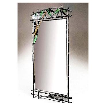 Кованое зеркало «Бамбук»
