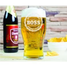 Бокал для пива Лучший в мире BOSS
