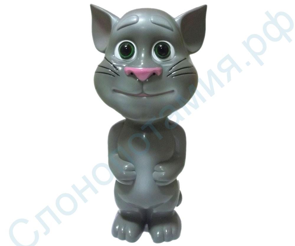Интерактивная игрушка-повторюшка Говорящий кот Том