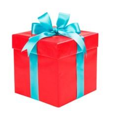 Коробка для подарков «Красная»