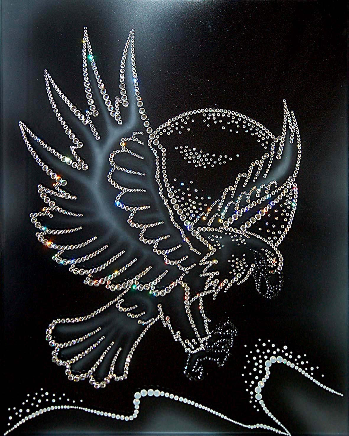 Картина Swarovski Белый орел