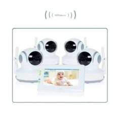Видеоняня Ramili Baby с 4 камерами